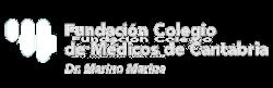 Logo de la Fundación del colegio de médicos de Cantabria
